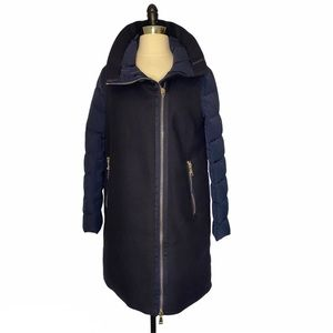 Moncler Aglaia Wool Down Quilted Jacket